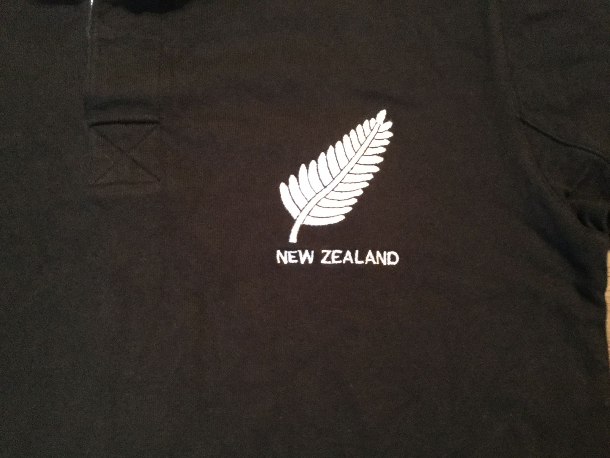 All black t shirt new zealand - 1970s New Zealand S S Cotton Traders Classics Rugby Union Shirt Adults Medium All Blacks